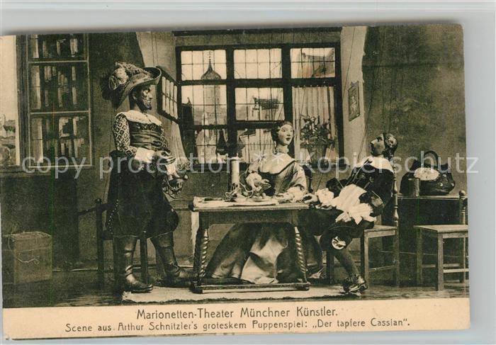 AK / Ansichtskarte Muenchen Marionetten Theater Kat. Muenchen