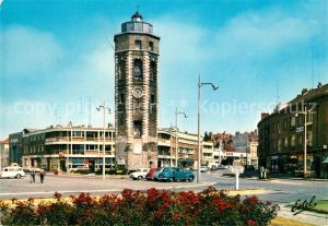 AK / Ansichtskarte Dunkerque Place du Minck Tour du Leughenaer Kat. Dunkerque
