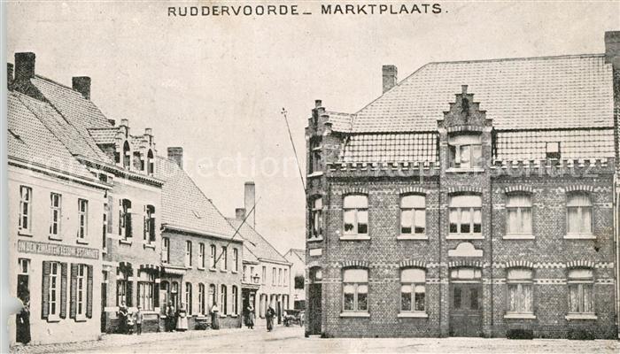 AK / Ansichtskarte Ruddervoorde Marktplaats Kat.