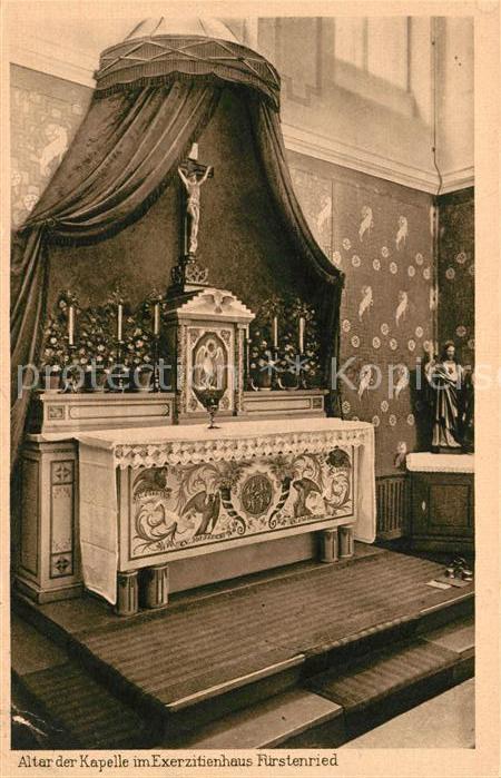 AK / Ansichtskarte Fuerstenried Altar der Kapelle Exerzitienhaus Kat. Muenchen 0