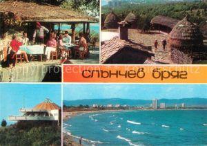 AK / Ansichtskarte Slantchev Brjag Restaurant Hotel Panorama Strand