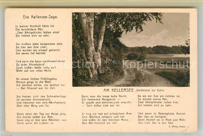 AK / Ansichtskarte Eutin Partie am Kellersee Kalkhuette Kat. Eutin