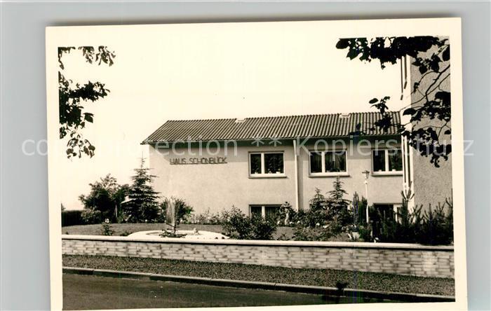 AK / Ansichtskarte Fussingen Pension Haus Schoenblick Kat. Waldbrunn (Westerwald)