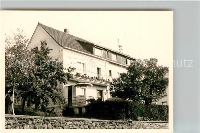 AK / Ansichtskarte Fussingen Pension Haus Sonne Kat. Waldbrunn (Westerwald)