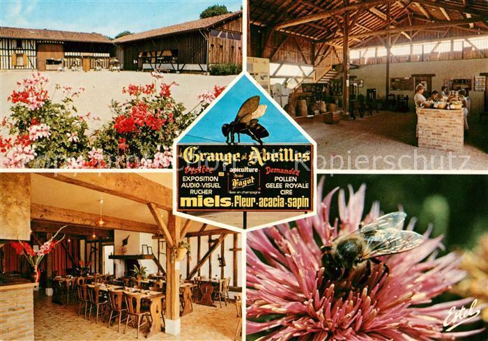 AK / Ansichtskarte Giffaumont Champaubert La Grange aux Abeilles Restaurant Butineuse Kat. Giffaumont Champaubert
