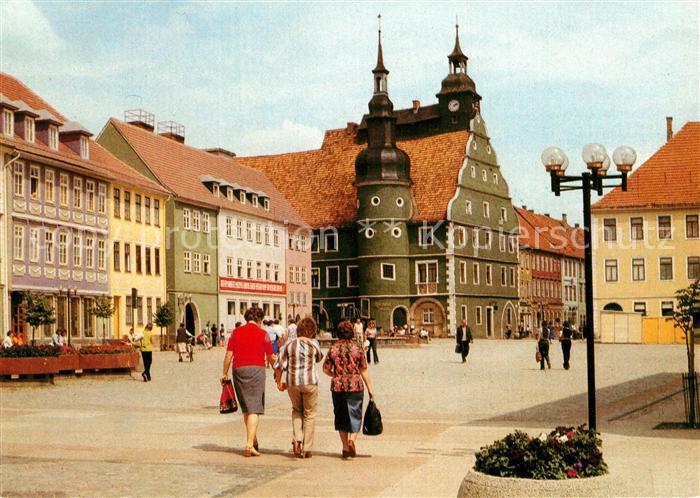 AK / Ansichtskarte Hildburghausen Markt Kat. Hildburghausen