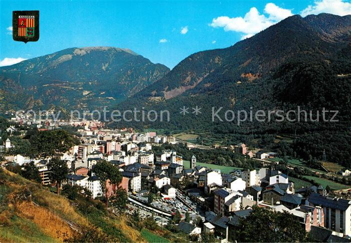 AK / Ansichtskarte Andorra La Vella Panorama Kat. Andorra La Vella