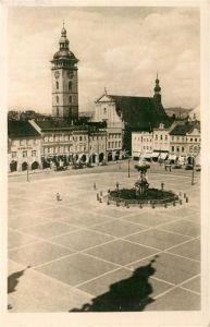 AK / Ansichtskarte Ceske Budejovice Marktplatz  Kat. Budweis Ceske Budejovice