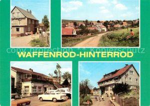 AK / Ansichtskarte Hinterrod Waffenrod Gaststaette Auegrund HO Gaststaetten Kat. Waffenrod Hinterrod Eisfeld