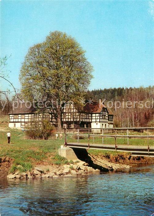 AK / Ansichtskarte Reissig Plauen Betriebsferienheim und Gaststaette Lochbauer
