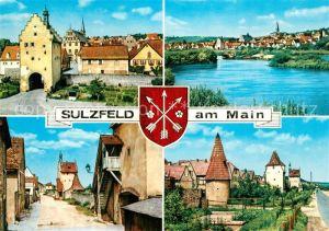 AK / Ansichtskarte Sulzfeld Main Stadttor Ortsansichten Kat. Sulzfeld a.Main