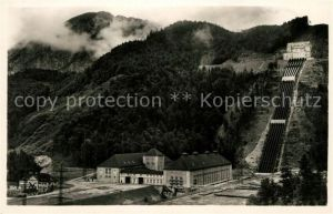 AK / Ansichtskarte Walchensee Kraftwerk Wasserschloss Kat. Kochel a.See