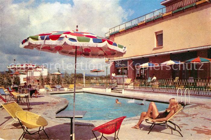 Ak ansichtskarte castelldefels residencia luna piscina for Piscinas costa brava