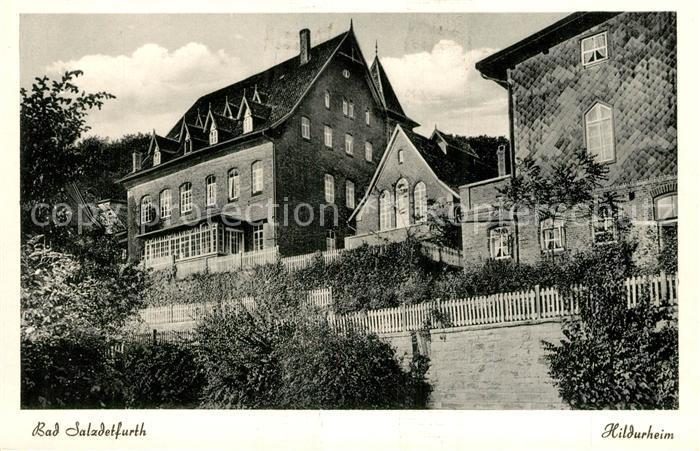 AK / Ansichtskarte Bad Salzdetfurth Hildurheim Kat. Bad Salzdetfurth