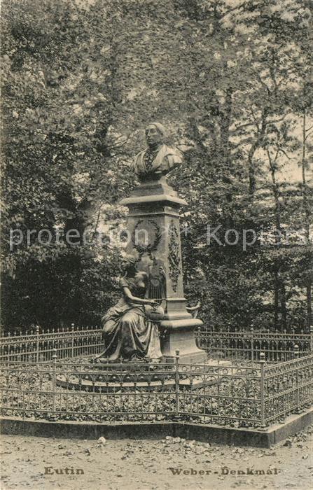 AK / Ansichtskarte Eutin Weber Denkmal Kat. Eutin