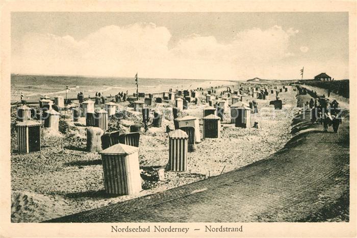 AK / Ansichtskarte Norderney Nordseebad Nordstrand Kat. Norderney