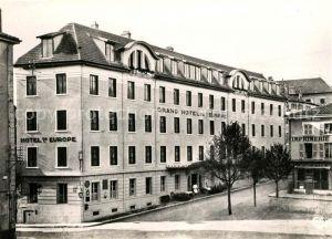 AK / Ansichtskarte Bourg en Bresse Hotel de l Europe Kat. Bourg en Bresse