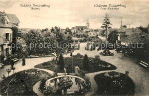 AK / Ansichtskarte Carspach Schloss Sonnenberg Park Kat. Carspach