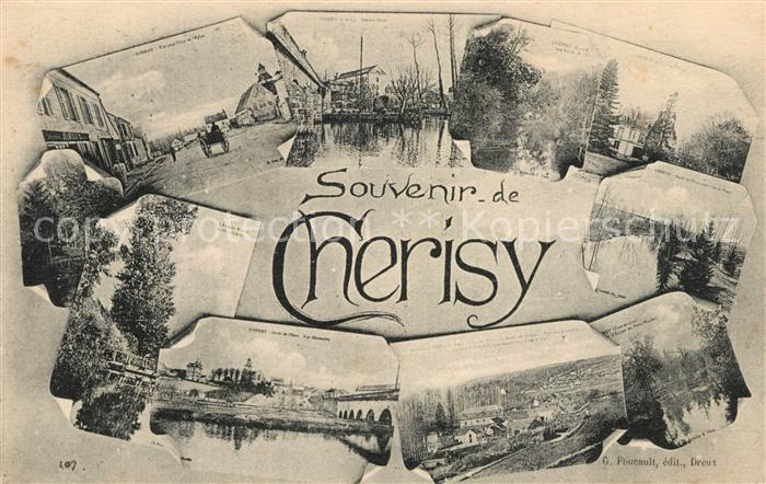 AK / Ansichtskarte Cherisy d Eure et Loir Panorama  Kat. Cherisy