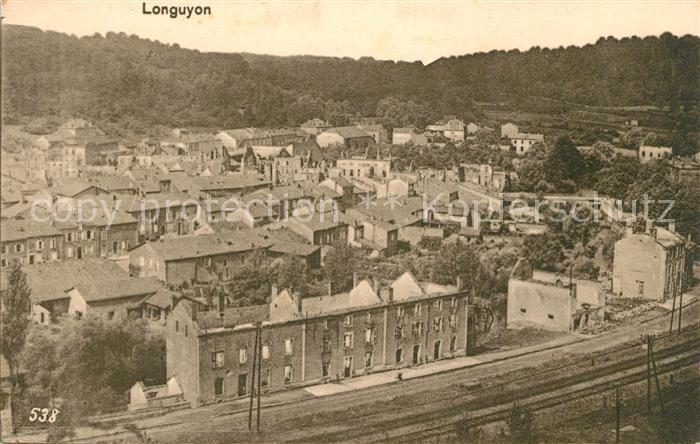 AK / Ansichtskarte Longuyon Panorama Kat. Longuyon