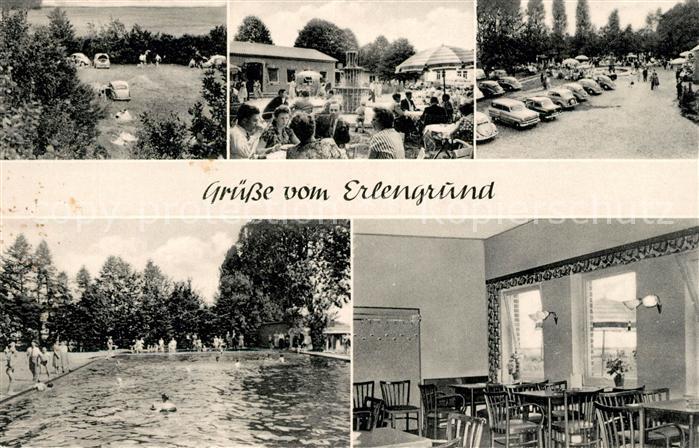 AK / Ansichtskarte Muenchehagen Restauration Erlengrund Freibad Camping Kat. Rehburg Loccum