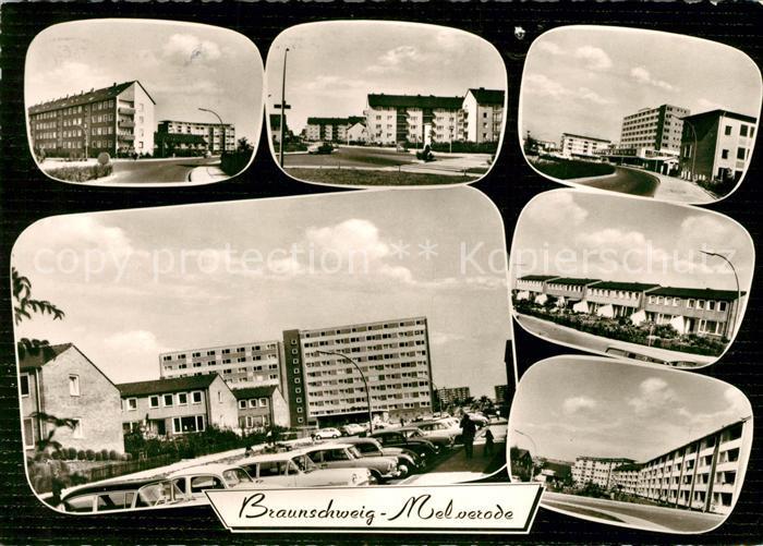 AK / Ansichtskarte Melverode Siedlung Hochhaeuser Kat. Braunschweig