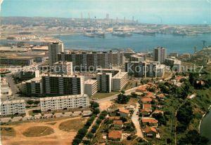AK / Ansichtskarte Port de Bouc Quartier des Comtes Port vue aerienne Kat. Port de Bouc