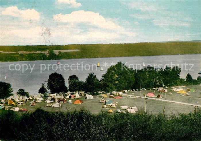 AK / Ansichtskarte Utting Ammersee Campingplatz Kat. Utting a.Ammersee