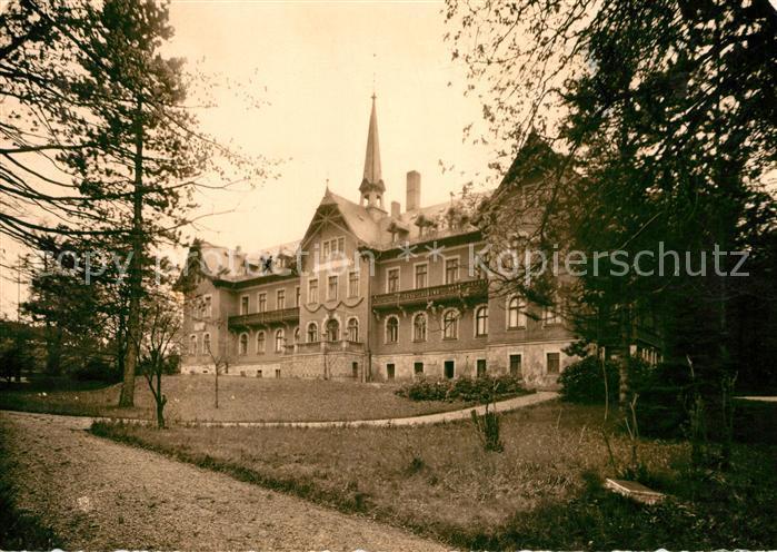 AK / Ansichtskarte Gruenhain Erzgebirge Kurheim fuer Jugendliche