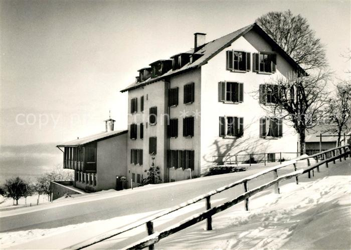 AK / Ansichtskarte Wienacht Landegg Kurhaus Winterpanorama Kat. Wienacht
