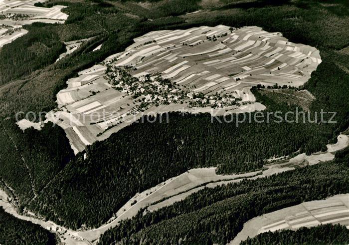 AK / Ansichtskarte Hornberg Schwarzwald Erholungsort Fliegeraufnahme Kat. Hornberg