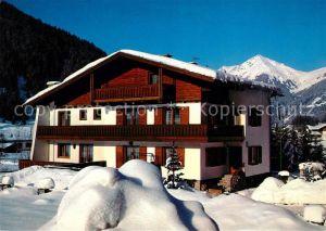 AK / Ansichtskarte Badgastein Gaestehaus Pension Haus Ulrike Winterlandschaft Alpen Kat. Bad Gastein