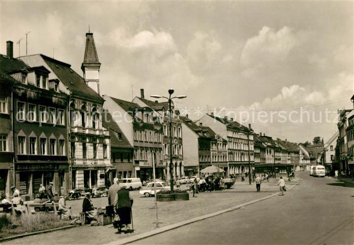 AK / Ansichtskarte Werdau Sachsen Marktplatz Kat. Werdau