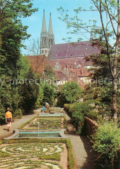 AK / Ansichtskarte Goerlitz Sachsen Ochsenbastei mit Peterskirche Kat. Goerlitz