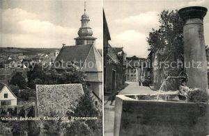 AK / Ansichtskarte Bechtheim Rheinhessen Teilansichten Weinort Kirche Brunnen Kleinod des Wonnegaues Kat. Bechtheim