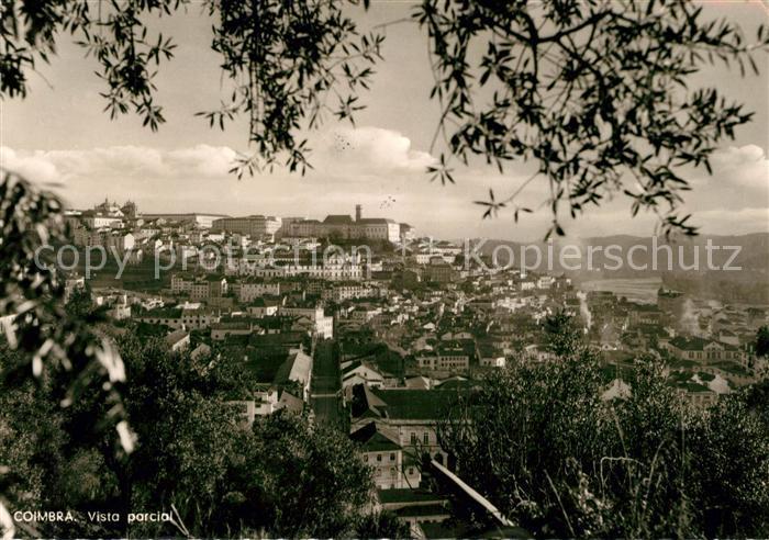 AK / Ansichtskarte Coimbra Stadtblick Kat. Coimbra