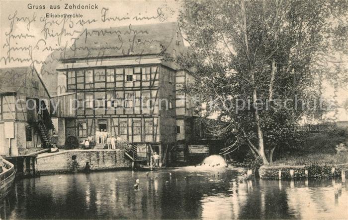 AK / Ansichtskarte Zehdenick Elisabethmuehle  Kat. Zehdenick