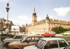 AK / Ansichtskarte Warszawa Zamek Schloss Kat. Warschau Polen