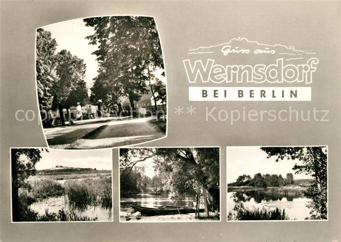 AK Wernsdorf, Erbschänke Wernsdorf von Robert Sperhake Nr. 8368643 ...