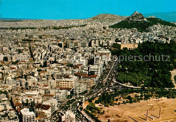 AK / Ansichtskarte Athenes Athen Fliegeraufnahme Kat. Griechenland