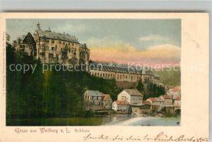 AK / Ansichtskarte Weilburg Schloss Lahn Kat. Weilburg Lahn