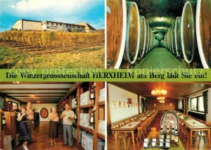 AK / Ansichtskarte Herxheim Berg Winzergenossenschaft Kat. Herxheim am Berg