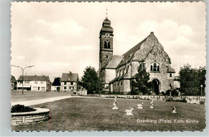 AK / Ansichtskarte Eisenberg Pfalz Katholische Kirche Kat. Eisenberg (Pfalz)