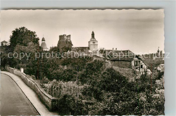AK / Ansichtskarte Kirchheimbolanden Grauer Turm Kat. Kirchheimbolanden