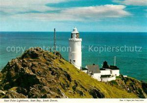 South Devon Start Point Lighthouse Start Bay