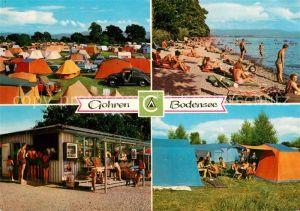 Gohren Campingplatz Kiosk Badestrand Kat. Kressbronn am Bodensee