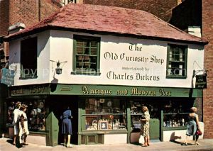 London Old Curiosity Shop Charles Dickens Antique and Modern Art Kat. City of London