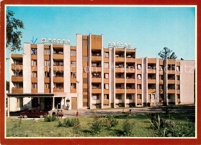Tatranska Lomnica Hotel Slovan Vysoke Tatry Hohe Tatra Kat. Tschechische Republik