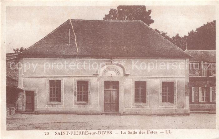 Saint Pierre sur Dives La Salle des Fetes Kat. Saint Pierre sur Dives