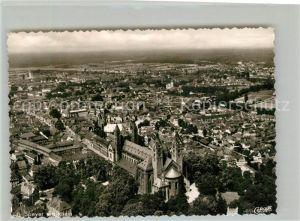 AK / Ansichtskarte Speyer Rhein Fliegeraufnahme Dom Innenstadt Kat. Speyer